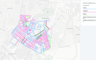 Mapa Distrito Cerro-Amate Terreno de Juegos